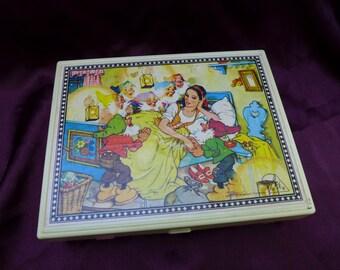 Vintage West German Fairy Tale Block Puzzle