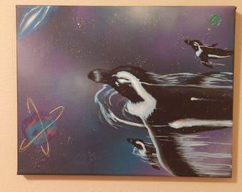 Galactic Penguins
