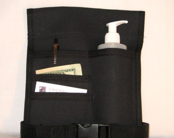 Made to Order - 4 Pocket Massage Oil Holster, Any Color