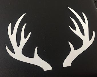 Deer rack decal