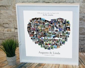 My Heart is Full Custom Photo Collage