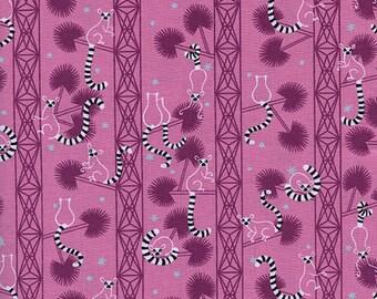 Cotton + Steel - Lagoon by Rashinda Coleman-Hale - Lemur Forest Orchid - Modern Maker Box