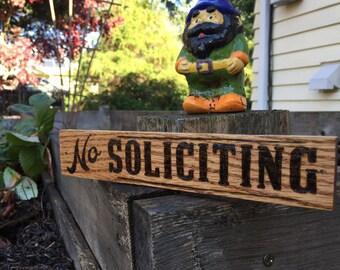 No Soliciting Sign. Home Decor | No Soliciting wood sign | No Soliciting Door Sign | No Soliciting