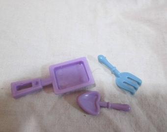 Barbie garden tools