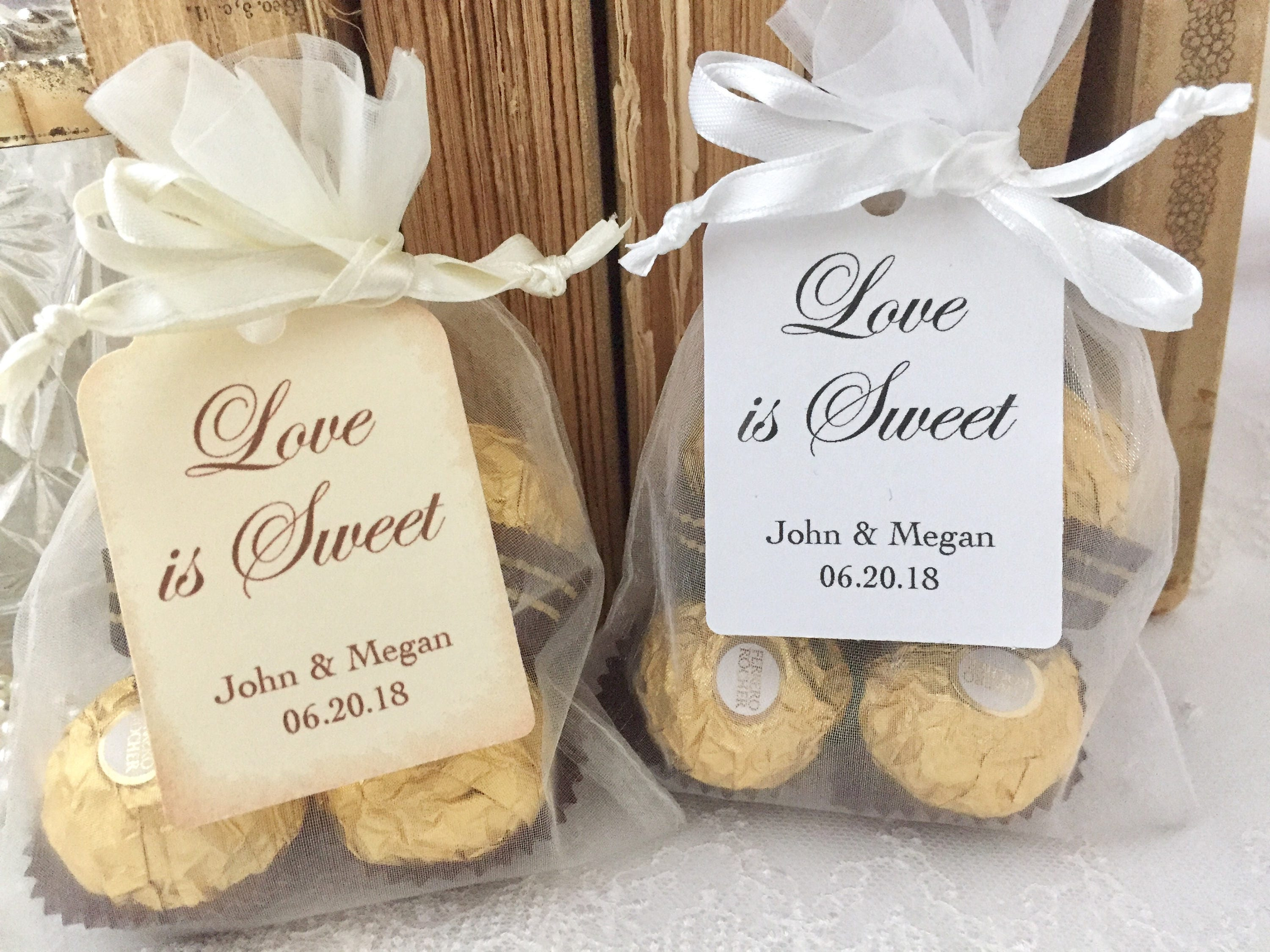 Love is Sweet Favor Bags Love is Sweet Favors Love is Sweet