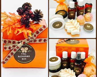 Fall Blessings Bath & Body Sampler Box