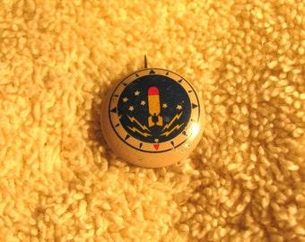Vintage  1946 KELLOGGS cornflakes cereal PEP pin ADVERTISING prize premium navy patrol squadron 23