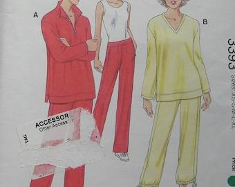 Kwik Sew Misses Tops Pants Pattern 3393