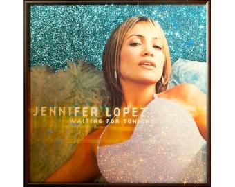Glittered Jennifer Lopez Waiting for Tonight Album