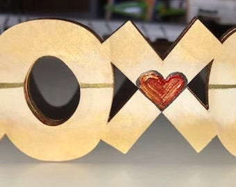 XOXO (mini) Heart and Arrow