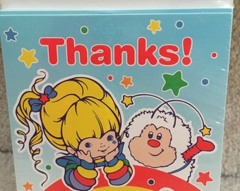 Rainbow Brite Thank You Notes