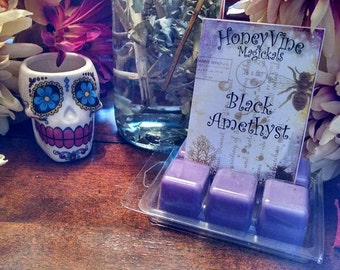 Black Amethyst Soy Wax Tart Melt