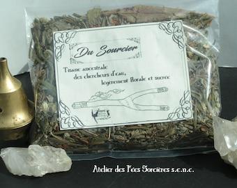 The Water Diviner tea, labrador tea with flowers