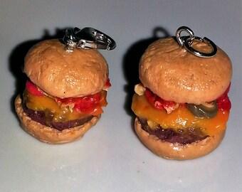 Hamburger Charms