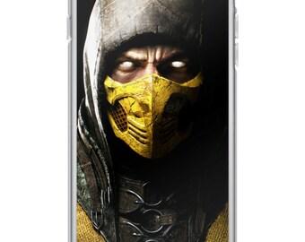 Mortal Kombat X Scorpion iPhone Case