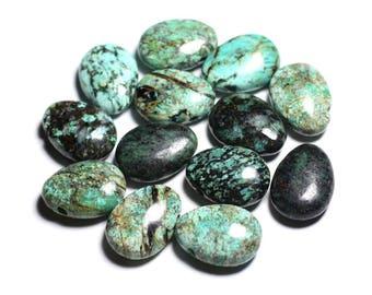 Gemstone - Turquoise drop 25mm - 4558550092281 Africa pendant