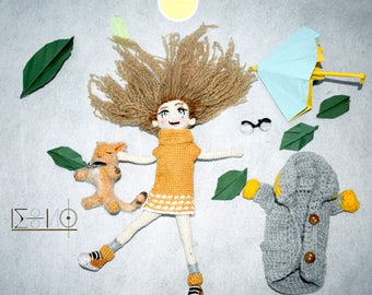 Handmade crochet doll (on order)