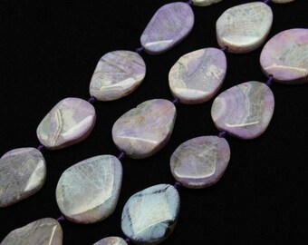 Purple Agate Slice Beads Natural Dragon Veins Agate Slab Beads Pendant Center Drill Agate Gemstones Beads Loose Agate Beads Jewelry