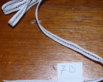 Lace for 8mm white luxeuil lace