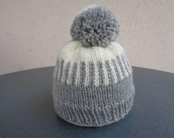 Hat 18 months to 2 years Merino