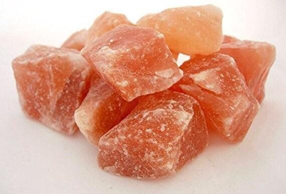 Himalayan pink salt chunks