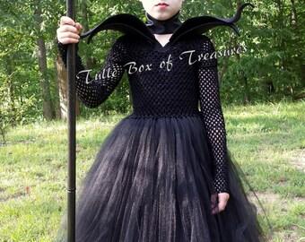 Magnificent Evil Black Tutu Costume