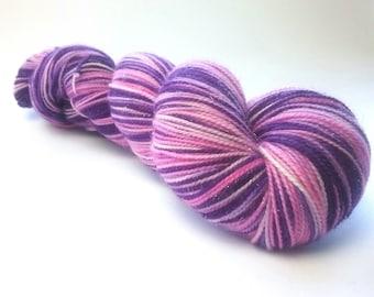 Fairy Princess sparkle merino nylon fingering/4ply/sock yarn