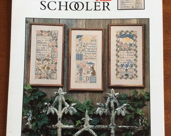 Prairie Schooler Book No 60 Counted Cross Stitch Chart Pattern, Spring  Samplers by Pam Brunke 1997
