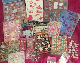 Sticker Lot Destash Hello Kitty