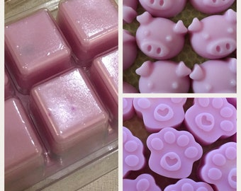 Blueberry & Vanilla soy wax melts , Natural wax, highly scented , hand poured, uk
