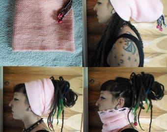 Hat for dreads 168 produced entirely by hand crochet!