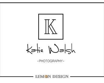 Premade Logo Design   Makeup Artist  Photography  Business  Blog  Logo