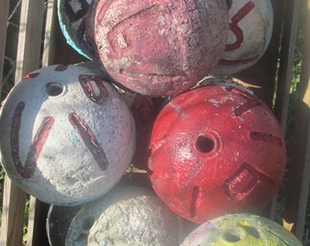 Used Crab Lobster floats buoys Florida ( 5 )
