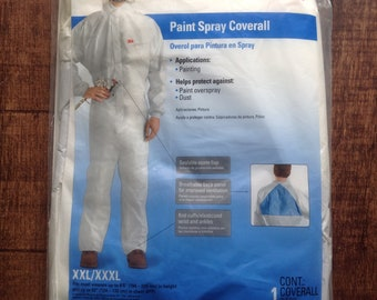 Men's XXL/XXXL 3M Paint Spray Coverall
