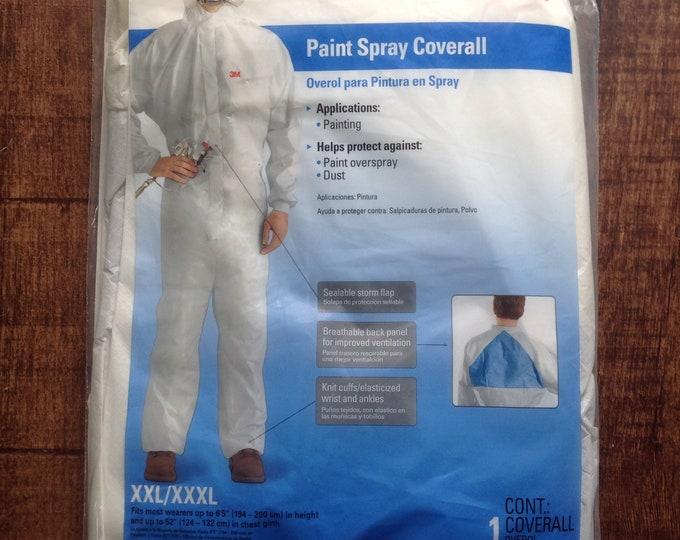 Men's XXL/XXXL 3M Paint Spray Coverall