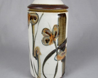 Thomas Coleman, Large Lidded Canister, Vintage Studio pottery