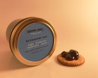 Blueberry Jam 8oz Jar
