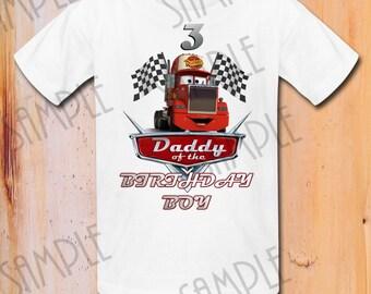 Tshirt Disney Cars DIY Custom Iron On Transfer Printable