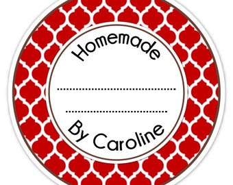 Custom Canning Labels, Made For You Stickers, Personalized Labels, From The Kitchen Stickers