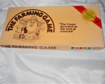 The Farming Board Game by George Rohrbacher Agricultural Educational Homeschooling