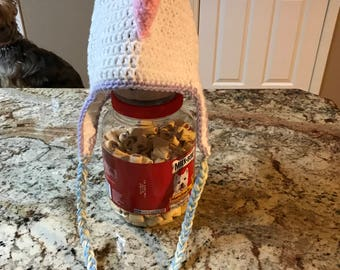 Girls Dragon Crochet Hat