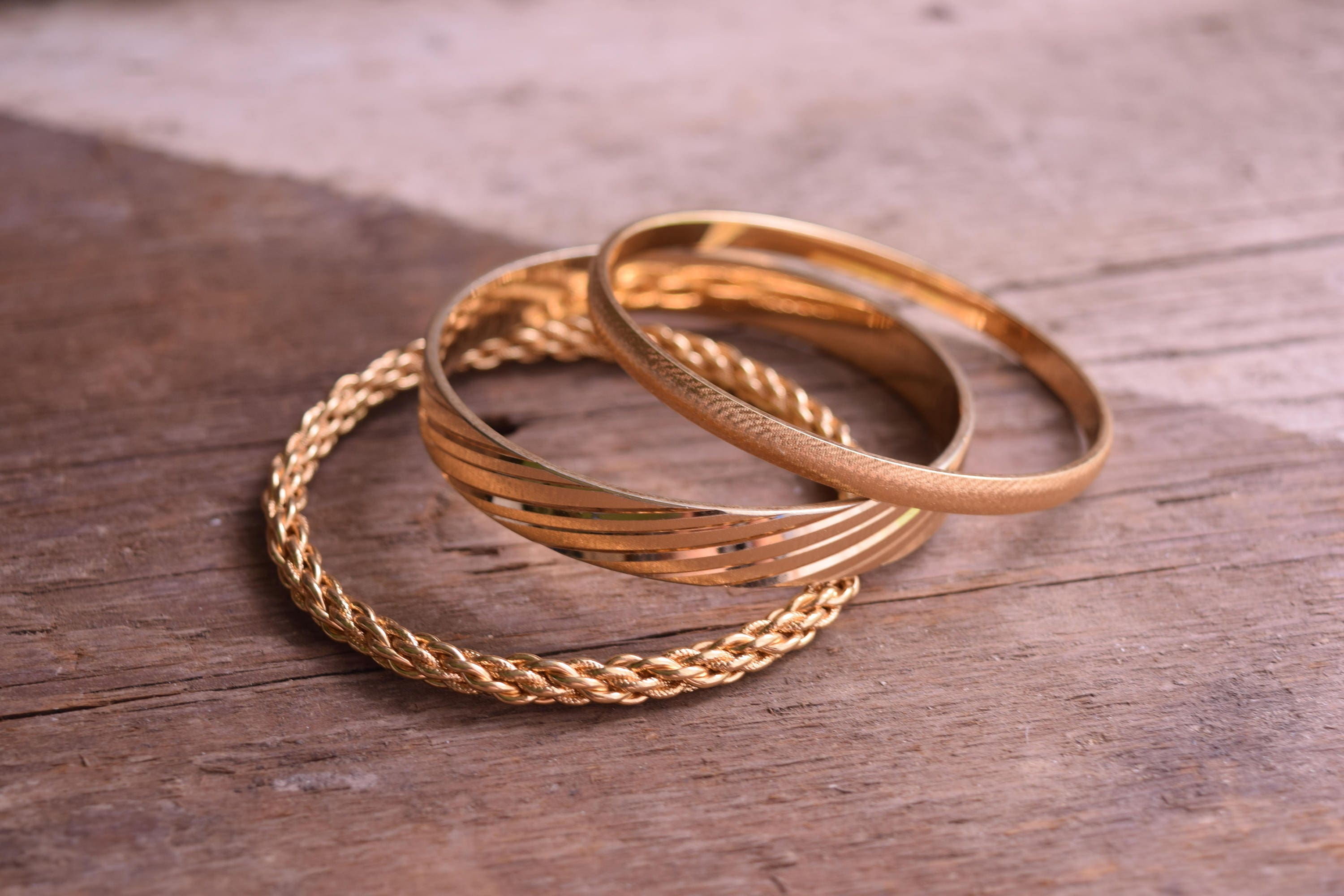 original scream by skinny gold notonthehighstreet pretty bangles com stacking stacked product screampretty