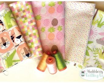 Miney Moe, 1/2 yard Bundle, Maude Asbury, Blend Fabrics, Quilting Fabric, Cotton Fabric, Yardage
