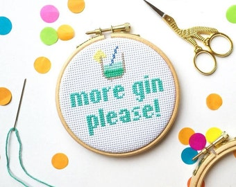 Funny cross stitch kit, cross stitch kit, pattern, gifts for her, craft gifts, easy cross stitch, craft kit, mother day gift, gifts for mum