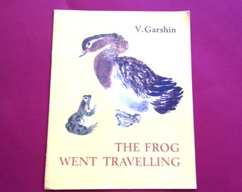 """V. Garshin """"The Frog Went Travelling"""". Children's book in English, 1975"""