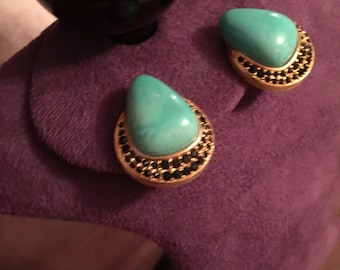 Vintage Givenchy clip ons earrings