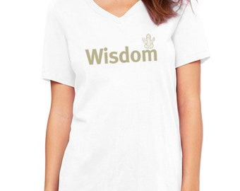 Yoga tshirt / Wisdom t-shirt / Women's t-shirt / tshirts with sayings / Women's tee | Women's t shirts | Gifts for Her /Mothers day Gift