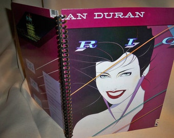 Duran Duran Rio Album Cover Notebook