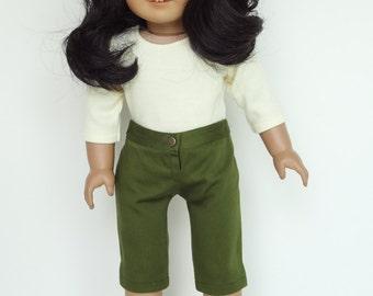 18 Inch Doll Clothes -- Capri Pants -- 1 Piece (5-21)