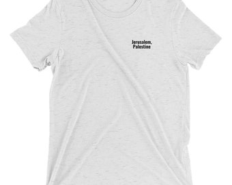 Jerusalem, Palestine t-shirt